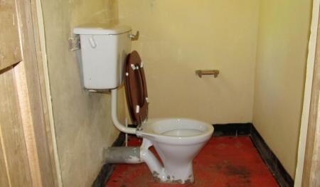toilet bwindi